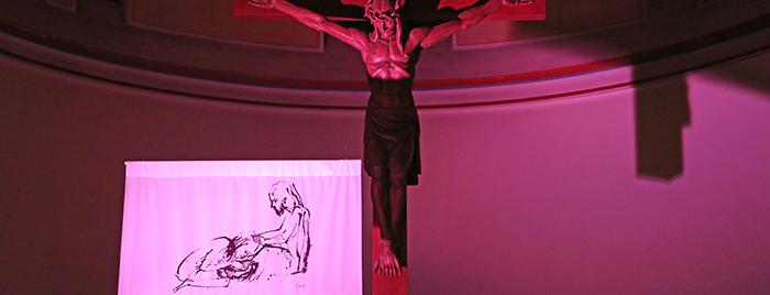 Fastenpredigt Motiv Maria berührend © Stefan Reifenberg