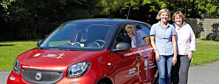 Ambulante Palliativschwestern der Bürgerstiftung Rheinviertel, Claudia Reifenberg und Maria Maul  © Monika Nonnenmacher