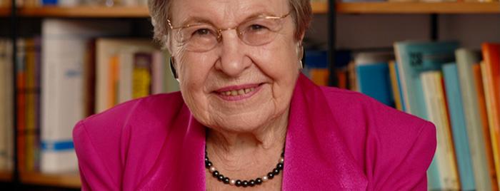 Prof. Dr. Dr. Ursula Lehr © privat