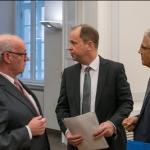 Pressekonferenz Demokratie und Partizipation für Geflüchtete 2018